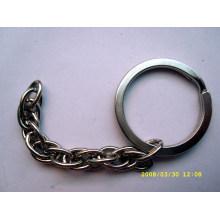 Малый круглый металлический брелок для продажи