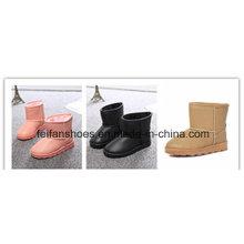 Neues Design Kinder Schnee Stiefel Winter Stiefel Kinder Schuhe mit PU Ober