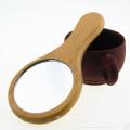 Nouveau miroir pratique en bois pour femme