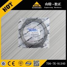 Komatsu repuestos placa PC300-7 genuina 706-7K-91340