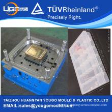 Fornecedor de moldes da China para moldagem por injeção de plástico / molde de injeção de caixa de armazenamento de plástico