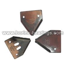 Seção de faca de cortadores de grama