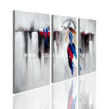 Peinture à l'huile de toile nuée pour femme pour décoration à la maison