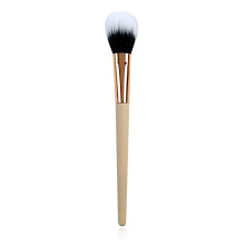 Duo Fibre Blush Brush With Bamboo Handle