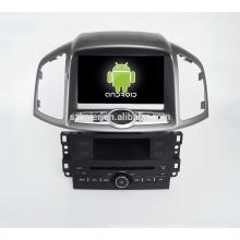 Quad core! Dvd do carro com link espelho / DVR / TPMS / OBD2 para 8 polegada tela sensível ao toque quad core 4.4 sistema Android CHEVROLET CAPTIVA