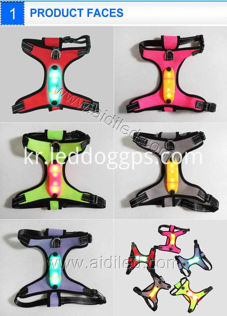 Light Safety Led Dog Harness