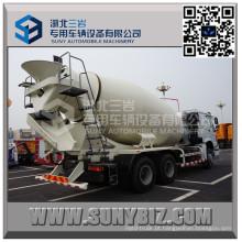 HOWO 10 Wheeler 12 Cbm Cement Mixer Caminhão