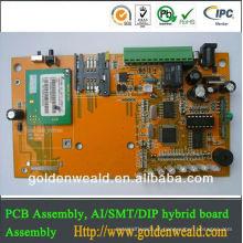 conjunto rígido do PWB do cabo flexível Controlador do sinal de poeira para o conjunto do PWB