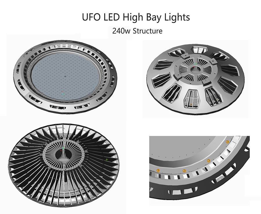 Warehouse Lights of UFO Led High Bay Lighting