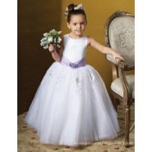 Colorful Flower Girl Dress or girl flower fancy dress competition or frozen elsa dress wholesale child clothe flower girl dress