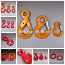 European Type high standard G100 self-locking hook