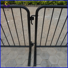 removable foot traffic road barrier