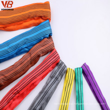 safety factor 8:1 polyester webbing lifting sling