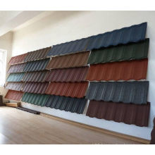 Colorful Stone Coated Metal Roof Shingles