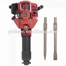 1700w 2.4HP 52cc Portátil Gasolina Jack Hammer Driling Machine Handheld Mini Petrol Powered martillo de perforación