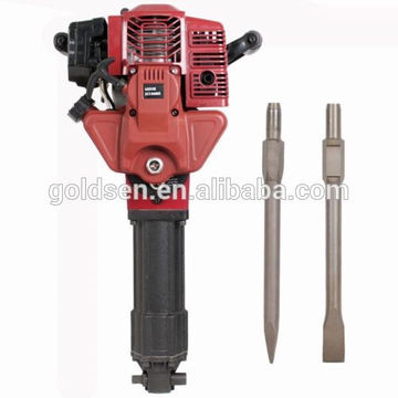 1700w 2.4HP 52cc portátil gasolina Jack Hammer Driling máquina Handheld Mini Petrol Powered Hammer Drill