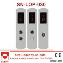 Panel del botón de presión del elevador (SN-LOP-030)