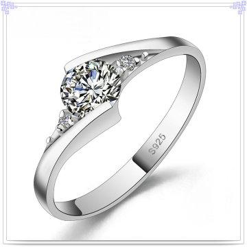 Jóia de cristal jóias anel de prata esterlina 925 jóias (CR0053)