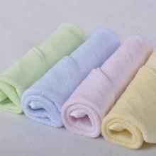 Asciugamano per il viso del bambino di bambù di imballaggio del regalo 10x10