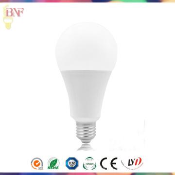 Bombilla de fábrica de plástico térmico 7W / 9W / 12W / 15W LED A70 con PC E27