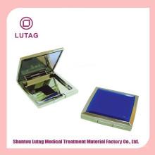 Plastic case luxury compact powder case