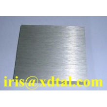 brushed aluminum sheet/ plate for aluminum closure/cap/jar/ bottle/seal material with thickness 0.19/0.21/0.22mm for can