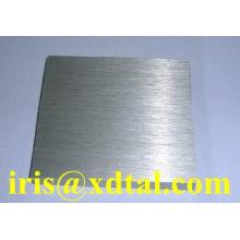 folha de alumínio escovado / placa para fechamento de alumínio / cap / frasco / garrafa / material de vedação com espessura 0,19 / 0,21 / 0,22 milímetros para lata