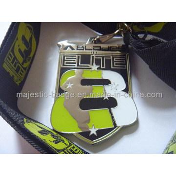 Customized Zinc Die Cast Elite Medallion