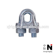 sujetadores de aparejo clips de cuerda de alambre de alta resistencia con zinc plateado