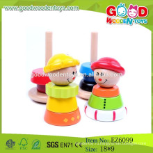 2015 Новая горячая продажа Tumbling Stacking Tower Toys Деревянная обучающая игрушка