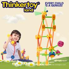 DIY Spielzeug Gebäude Block Puzzles Bildung Spielzeug