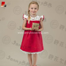 Baby Girl Red Christmas holiday dress