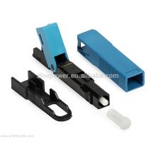Shenzhen Fabrik liefern FTTH Glasfaser-Schnellverbinder, SC / APC UPC Schnellverbinder, Quick Field Montage Glasfaser-Steckverbinder