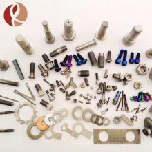 DIN 912 ISO 7380 Perno / tornillo de titanio para bicicleta de montaña