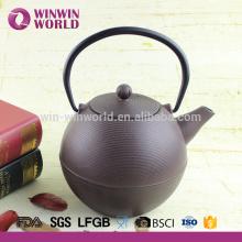 1000 ML Qualität Gusseisen Teekanne mit Edelstahl Filter Großhandel