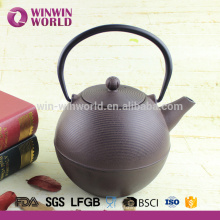 1000ML High Quality Cast Iron Teapot with Stainless Steel Filter Wholesale