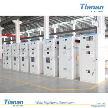 TIANAN 12kv AC Metal-Clad Switchgear, interruptor de alta tensão elétrica Switchgear Gabinete de distribuição de energia