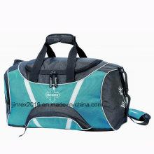 Poliéster Popular Deporte De Viajes Gimnasio Fitness Hombro Duffle Sports Bag