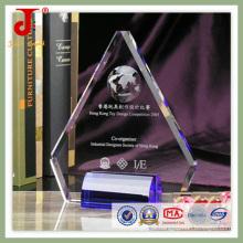 Troféu de cristal K9 ótico agradável (JD-CT-409)