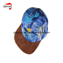 5-Panel Custom Snakeskin Plain Cap (ZJ072)