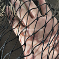 Multi-strand Black Knotted Bird Netting Tali