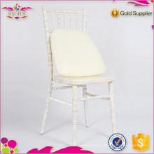 Cadeira de madeira de aluguel cadeira de jantar de hotel suave cadeira de chaivari de madeira mais barata