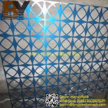 Hoja perforada de acero inoxidable / aluminio