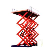 mesa elevadora de tijera neumática