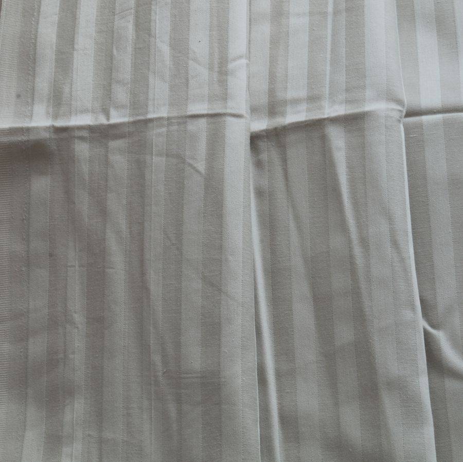 cotton  white satin sheet  fabrics
