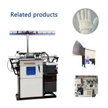 2017 venda quente HX-305 alta qualidade bom preço de segurança automática de algodão luva máquina de confecção de malhas