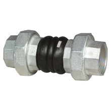 Screwed End Rubber Flexible Joint (double sphere)