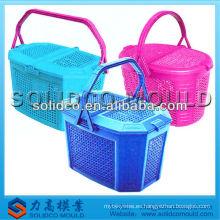 molde plástico de la cesta de picnic