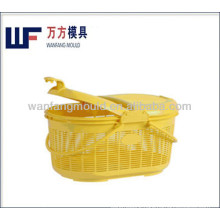 shopping basket injection molds with lid part molding