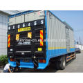 Dongfeng 6.6m refrigerated truck lorry tail lift